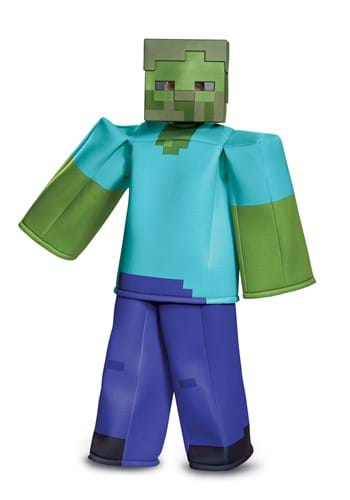 Minecraft Prestige Child Zombie Costume