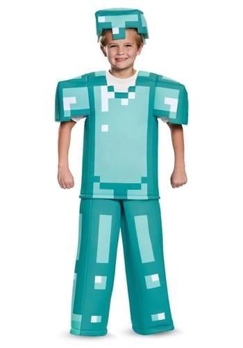 Prestige Minecraft Child Armor Costume