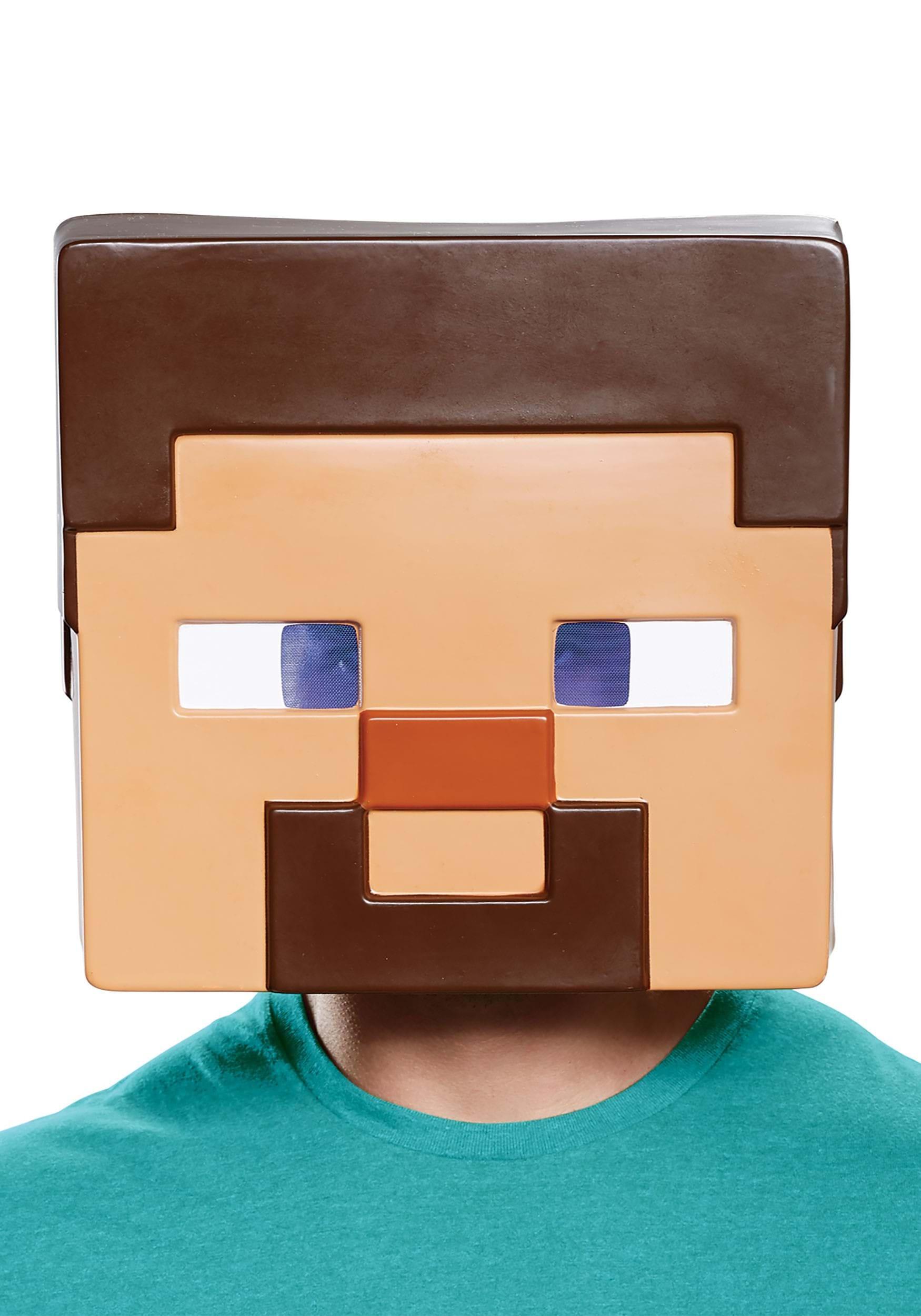 fd9a726f4ac Minecraft Adult Steve Half Mask