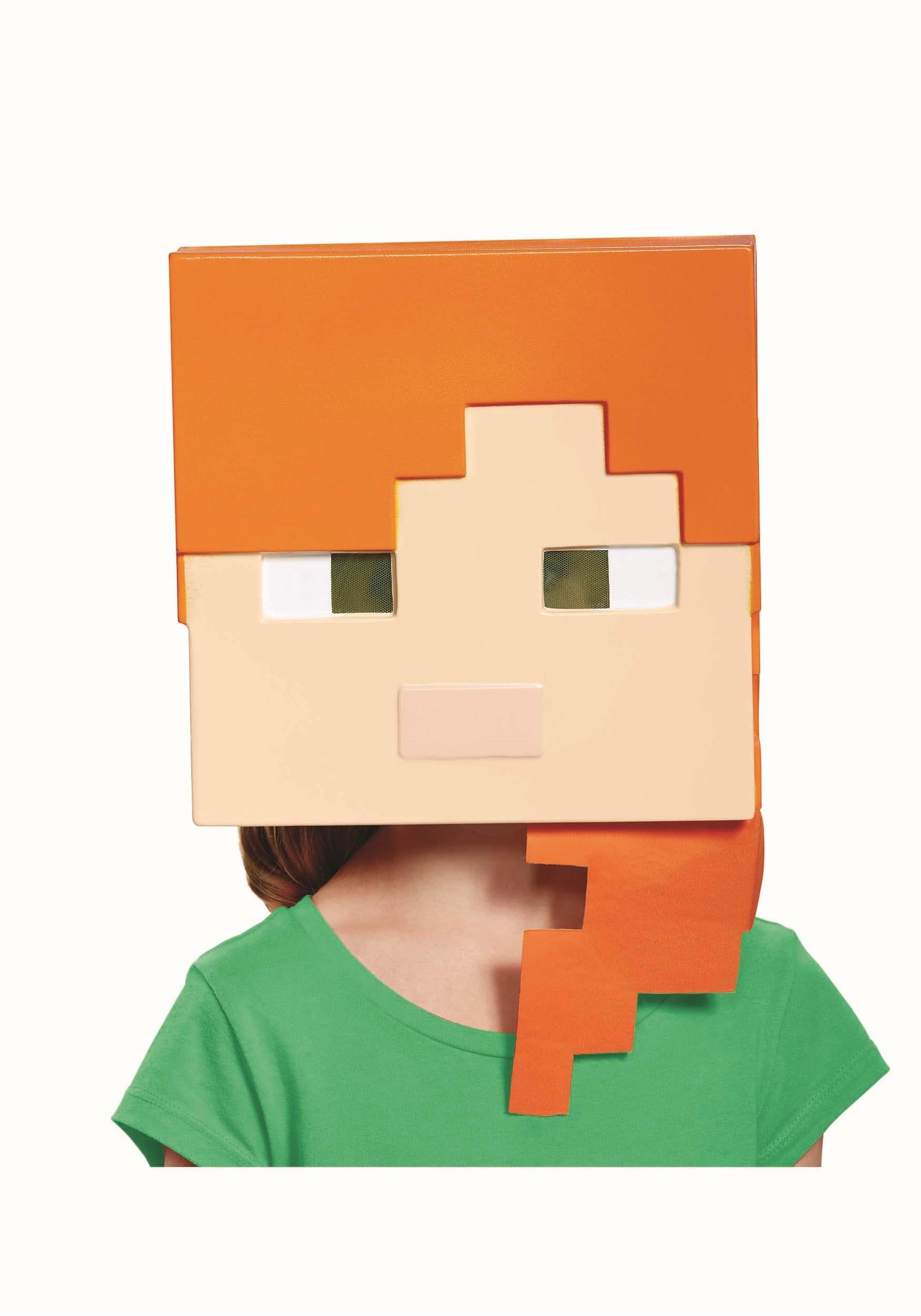 Minecraft Child Alex Mask DI65682