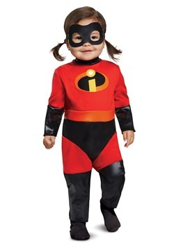 Incredibles 2 Deluxe Infant Violet Jumpsuit Costume Update M