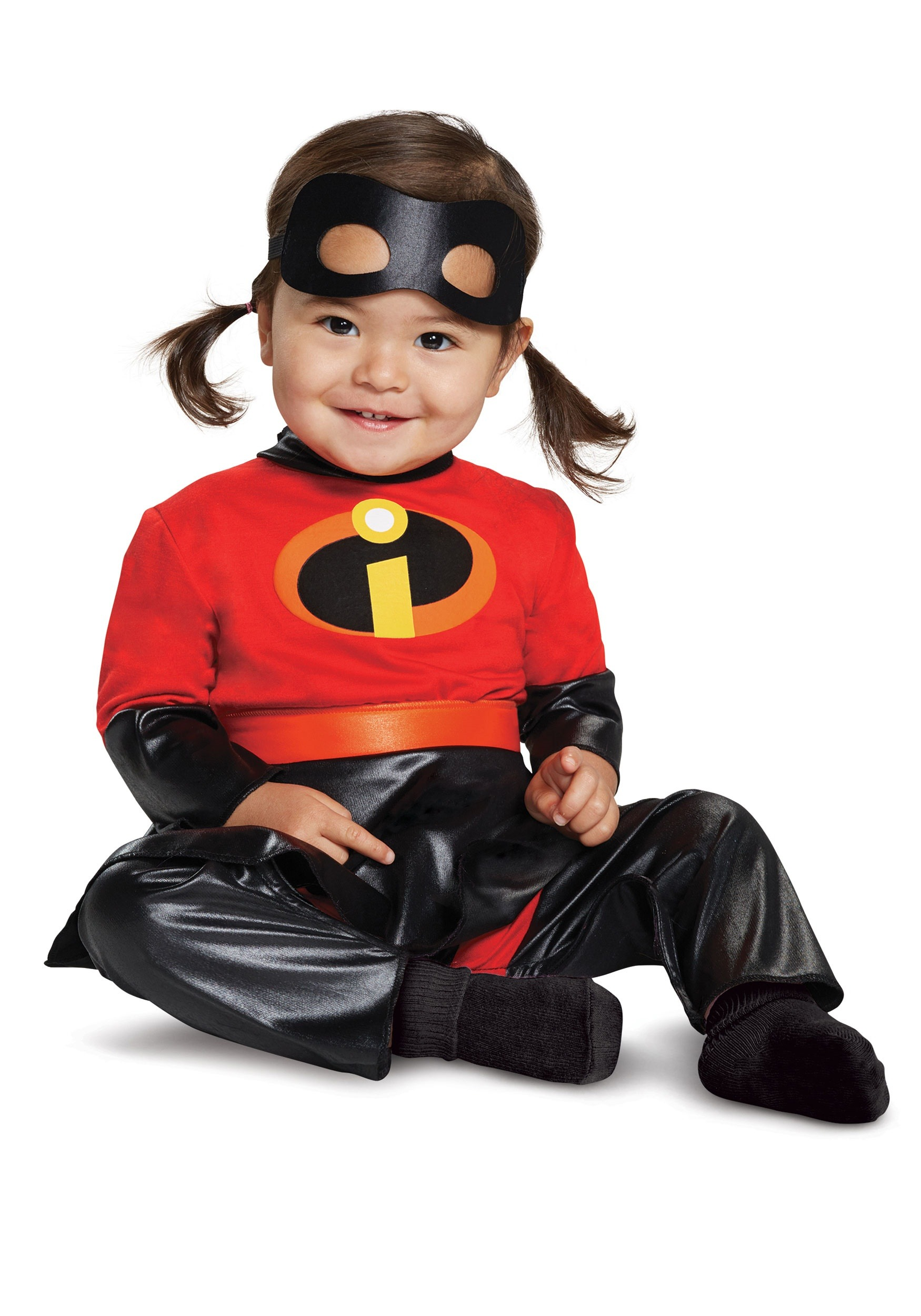 Incredibles 2 Infant Violet Jumpsuit Costume With Skirt