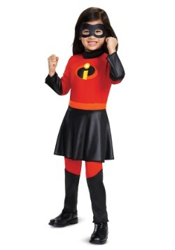 Disney Incredibles 2 Deluxe Toddler Violet Jumpsuit