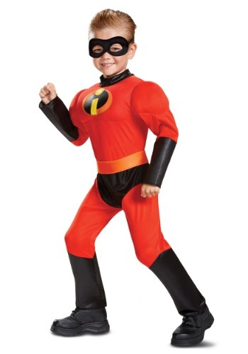 Disney Incredibles 2 Classic Toddler Dash Muscle Costume