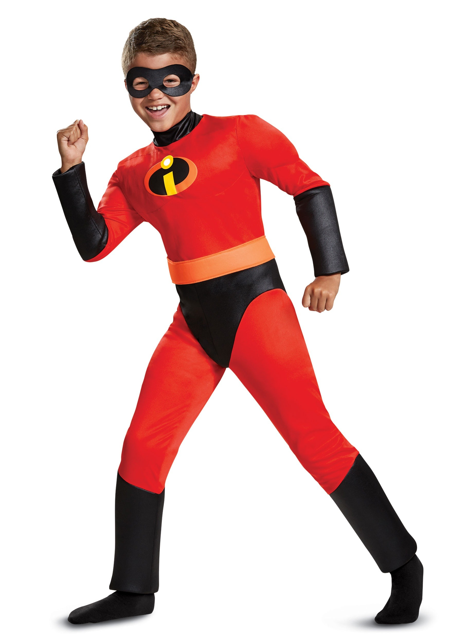 05b6a8991677a Incredibles 2 Classic Dash Muscle Costume for Kids