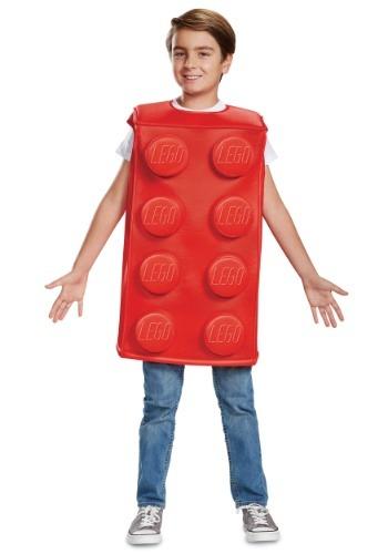Lego Child Red Brick Costume
