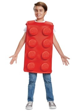 Lego Child Red Brick Costume