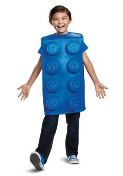 Lego Child Blue Brick Costume