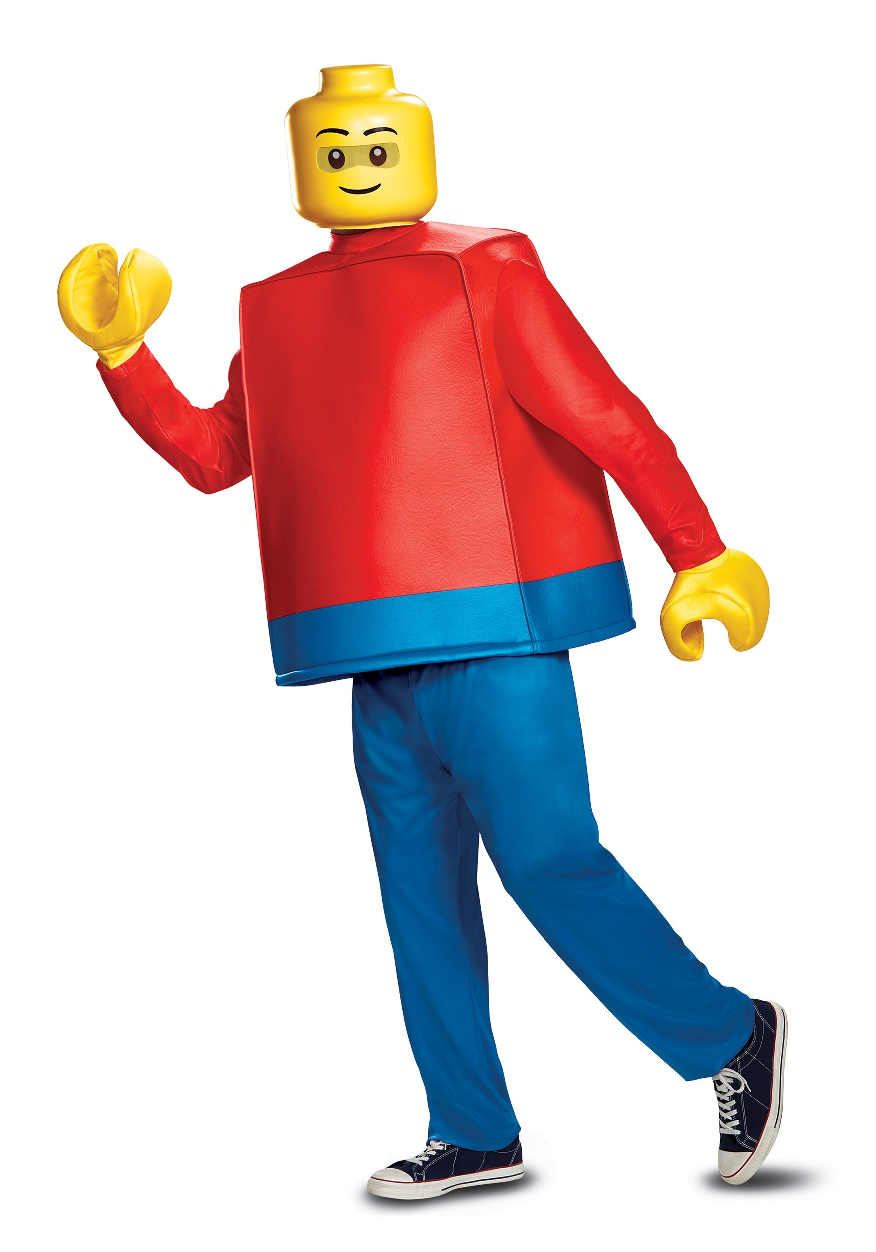 Deluxe LEGO Lego Guy Costume for Adults