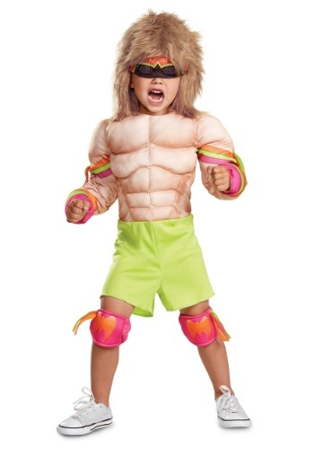 WWE Ultimate Warrior Muscle Infant Costume