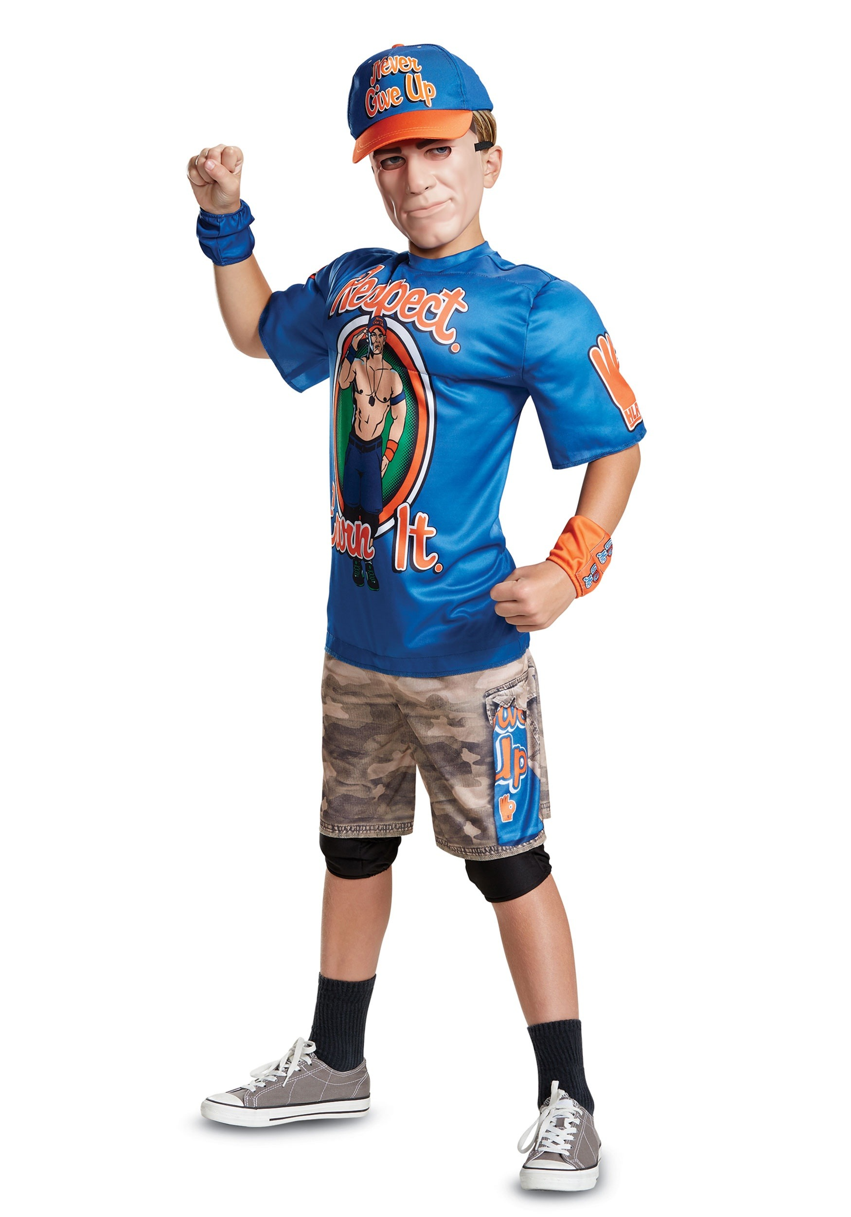 WWE John Cena Muscle Costume for Kids