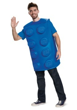 LEGO Adult Blue Brick Costume