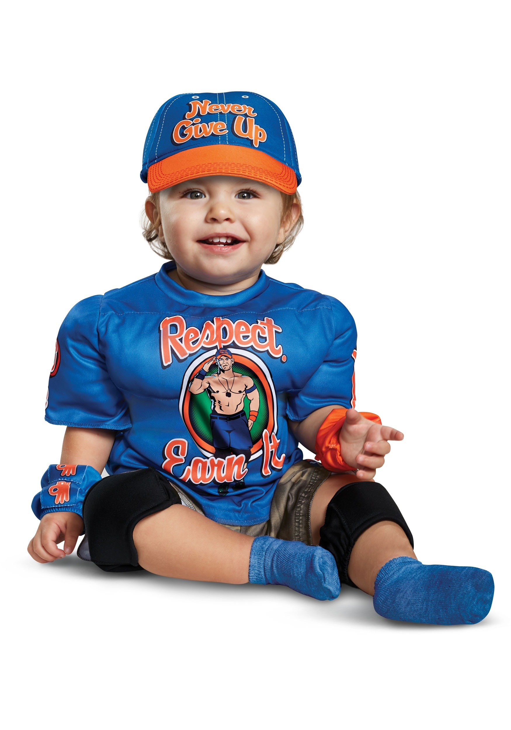 WWE John Cena Muscle Costume for Babies