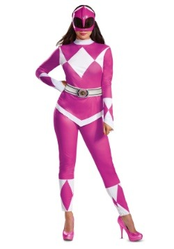 Power Rangers Womens Pink Ranger Costume
