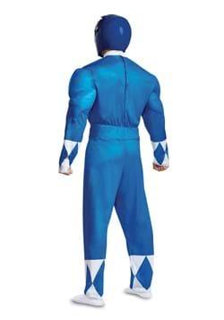 Power Rangers Adult Blue Ranger Muscle Costume 2
