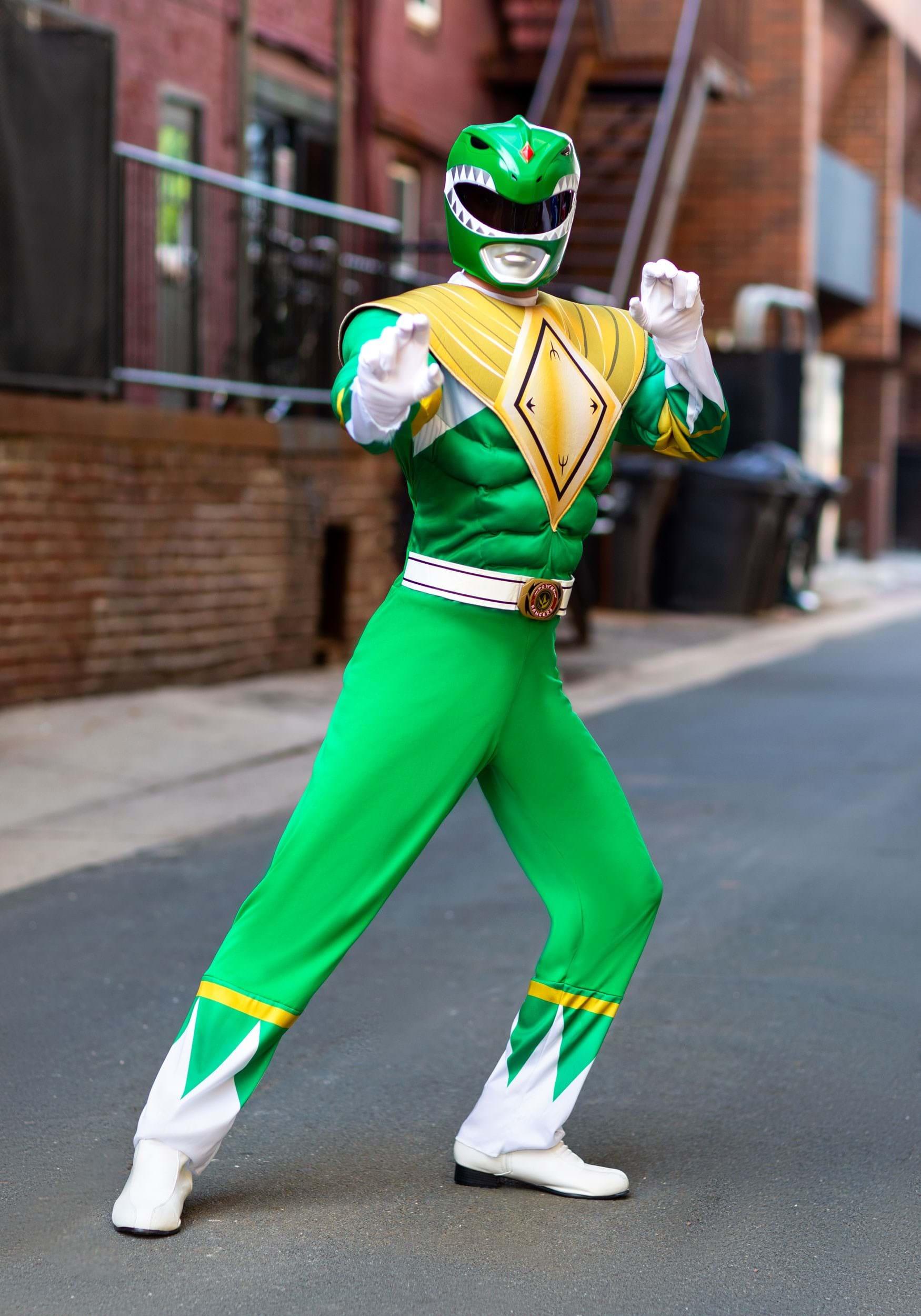 Power Rangers Adult Green Ranger Costume