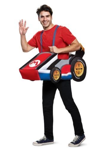 Super Mario Kart Adult Mario Ride In Costume
