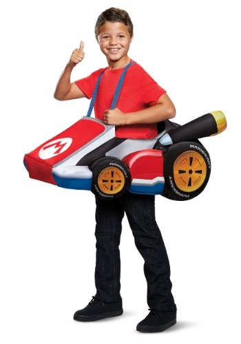 Child's Super Mario Kart Mario Ride In