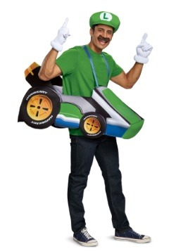 Super Mario Kart Luigi Ride In