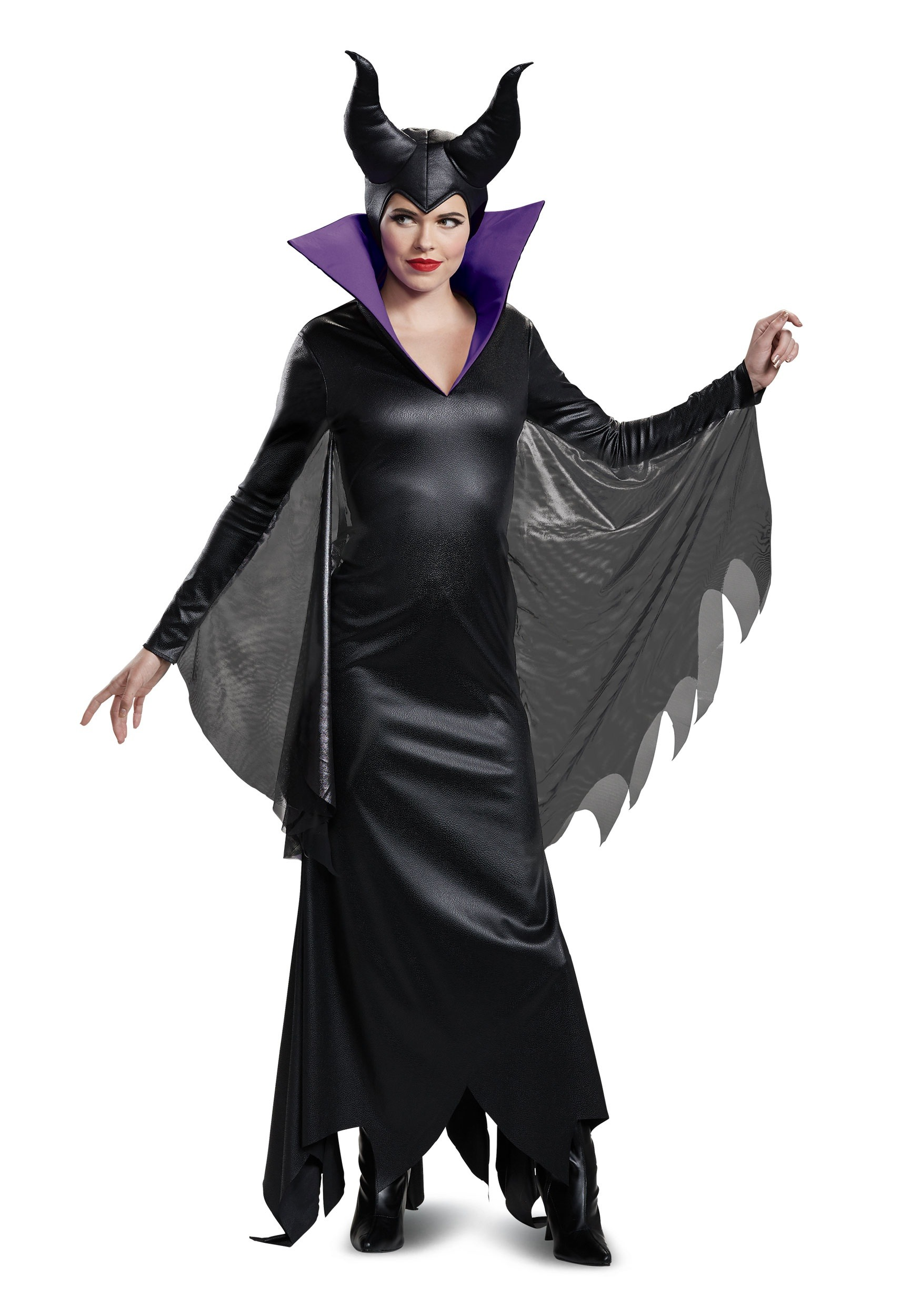 womens deluxe maleficent costume
