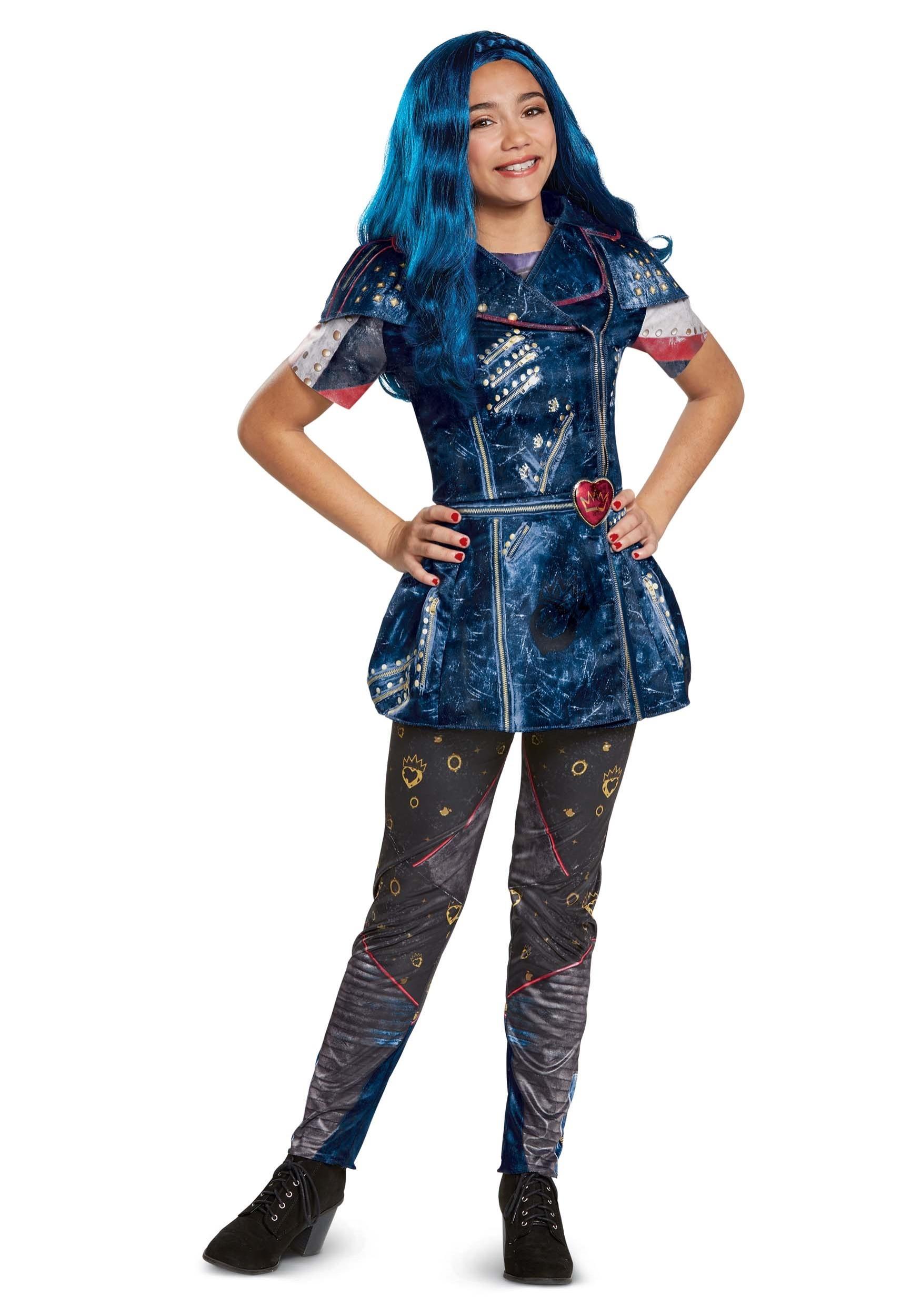 Descendants 2 Classic Evie Costume For Girls