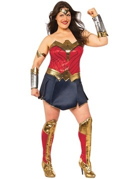 Women's Wonder Woman Plus Size Costume Update 1