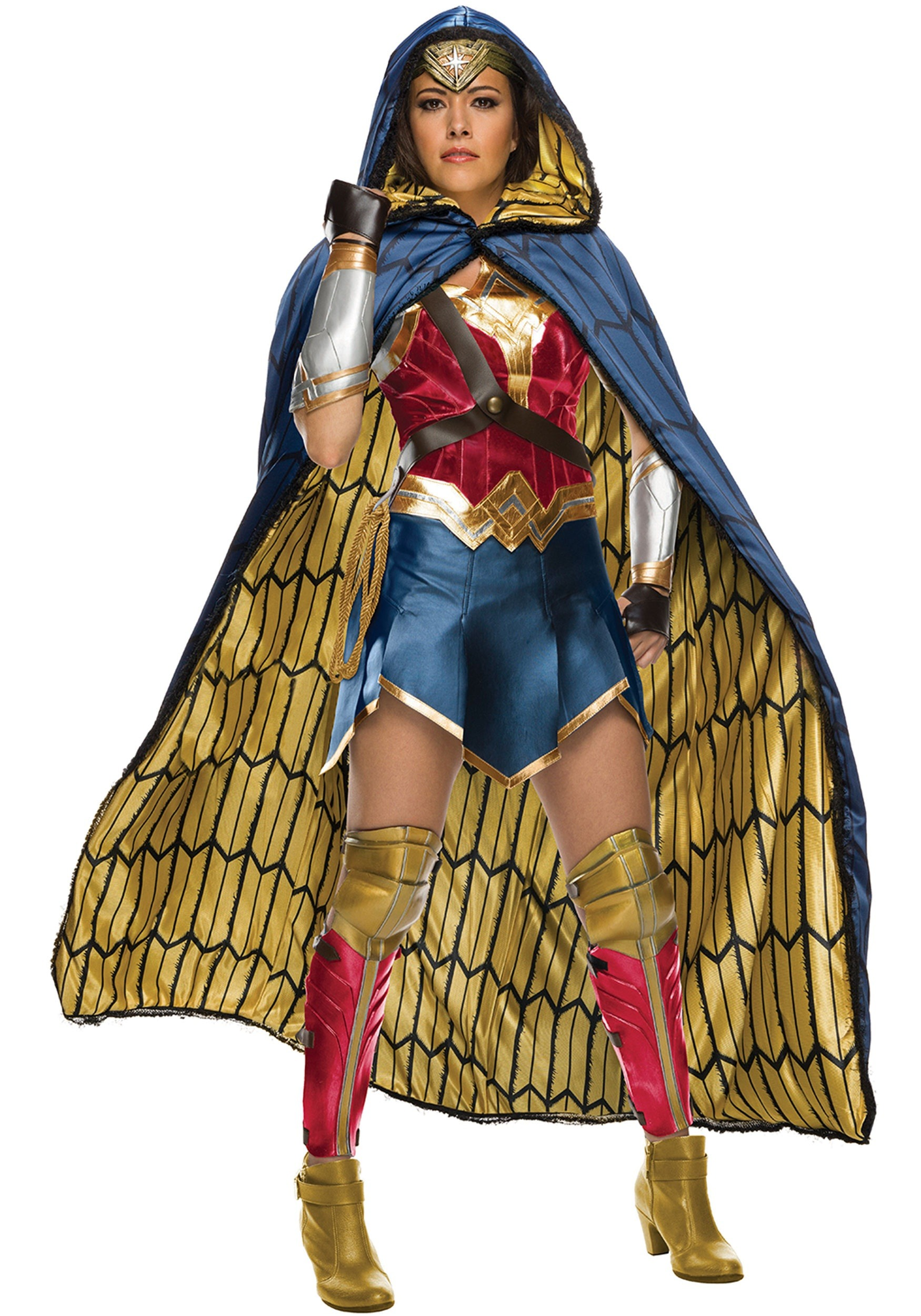 Grand Heritage Wonder Woman Costume For Women-3053