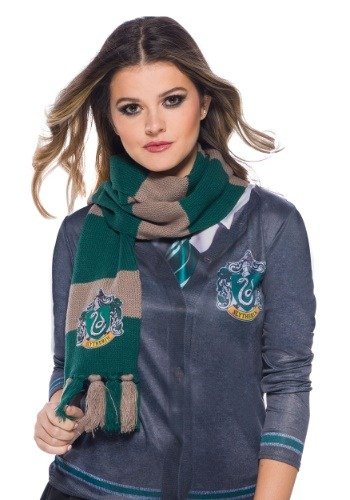 Harry Potter Slytherin Scarf1