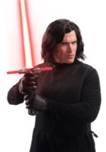 Adult Kylo Ren Wig and Scar Tattoo Set