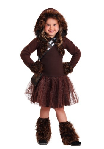 Girls Chewbacca Costume