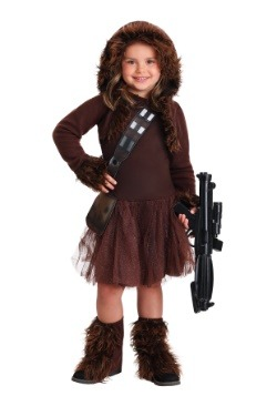 Girls Chewbacca Costume2