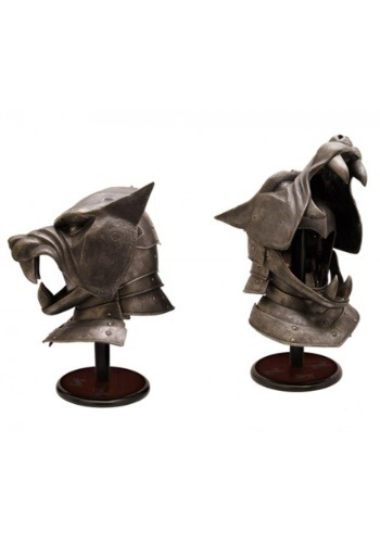The Hound's Helmet a Game of Thrones Collectible NTWVS0103-ST