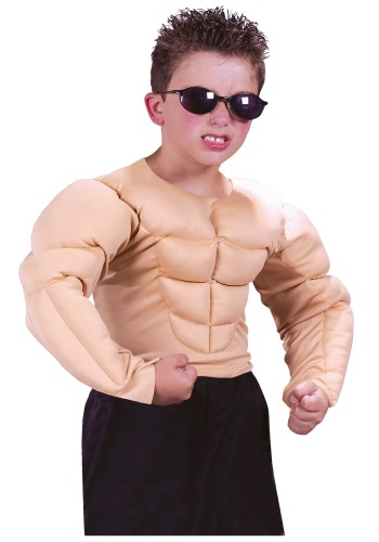 Kids Muscle Chest Shirt