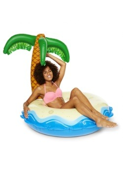 Giant Palm Tree Island Pool Float