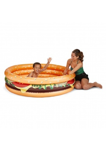 Cheeseburger Lil' Children's Inflatable Pool