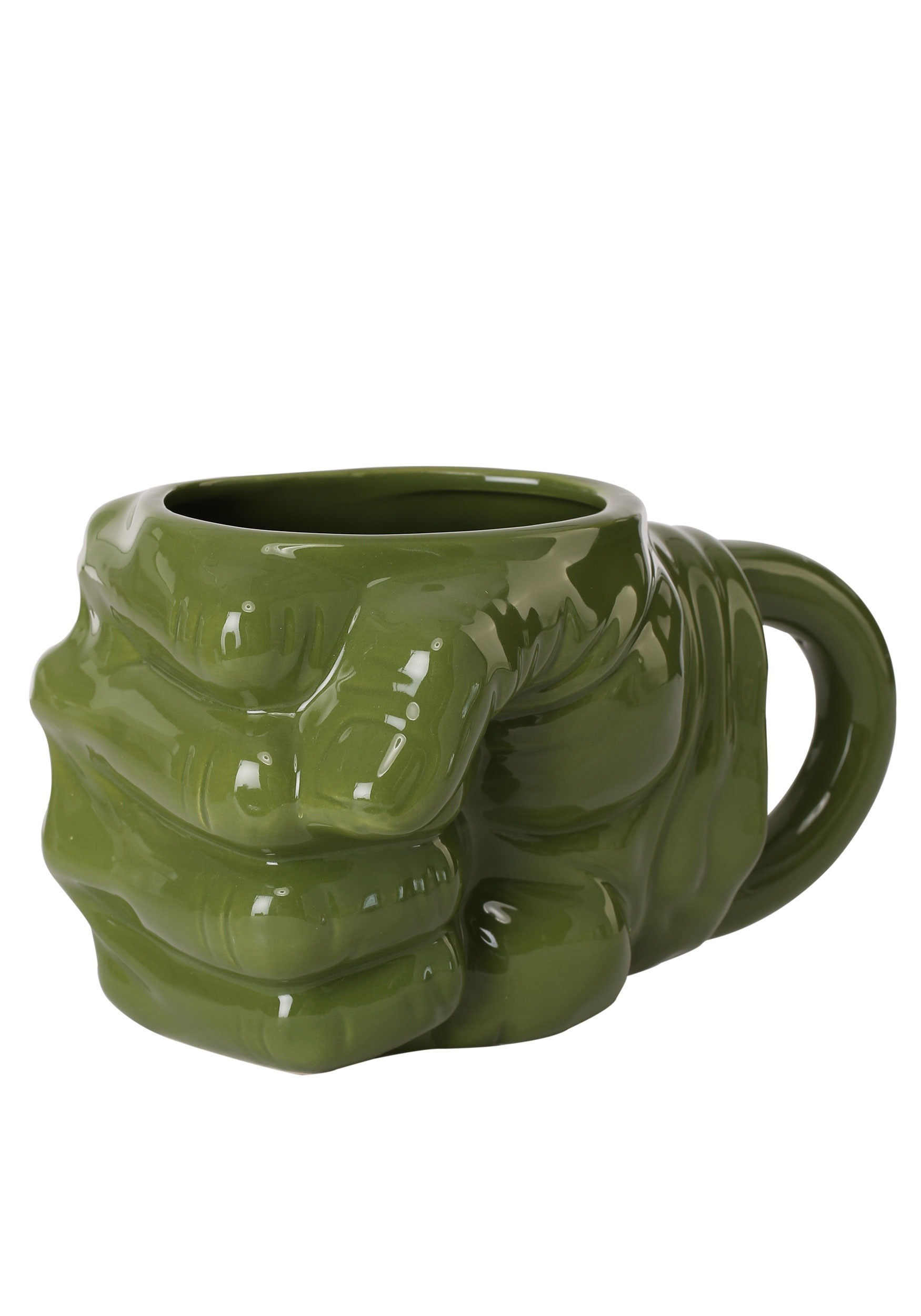 40436fd0a0b Marvel Hulk Fist Sculpted Ceramic Mug