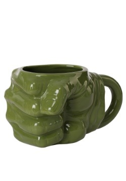 Marvel Hulk Fist Sculpted Ceramic Mug