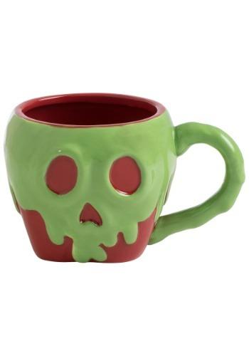 Disney Snow White Poison Apple Sculpted Ceramic Mug