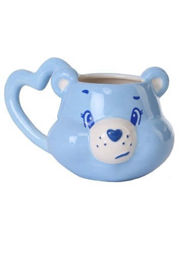 Care Bears Grumpy Bear Sculpted Ceramic Mug1