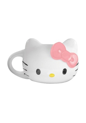 Hello Kitty Sculpted Ceramic Mug