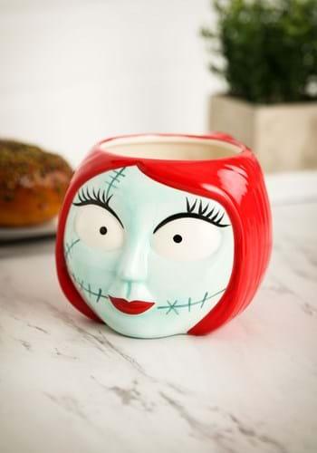 Nightmare Before Christmas Sally Sculpted Ceramic Mug