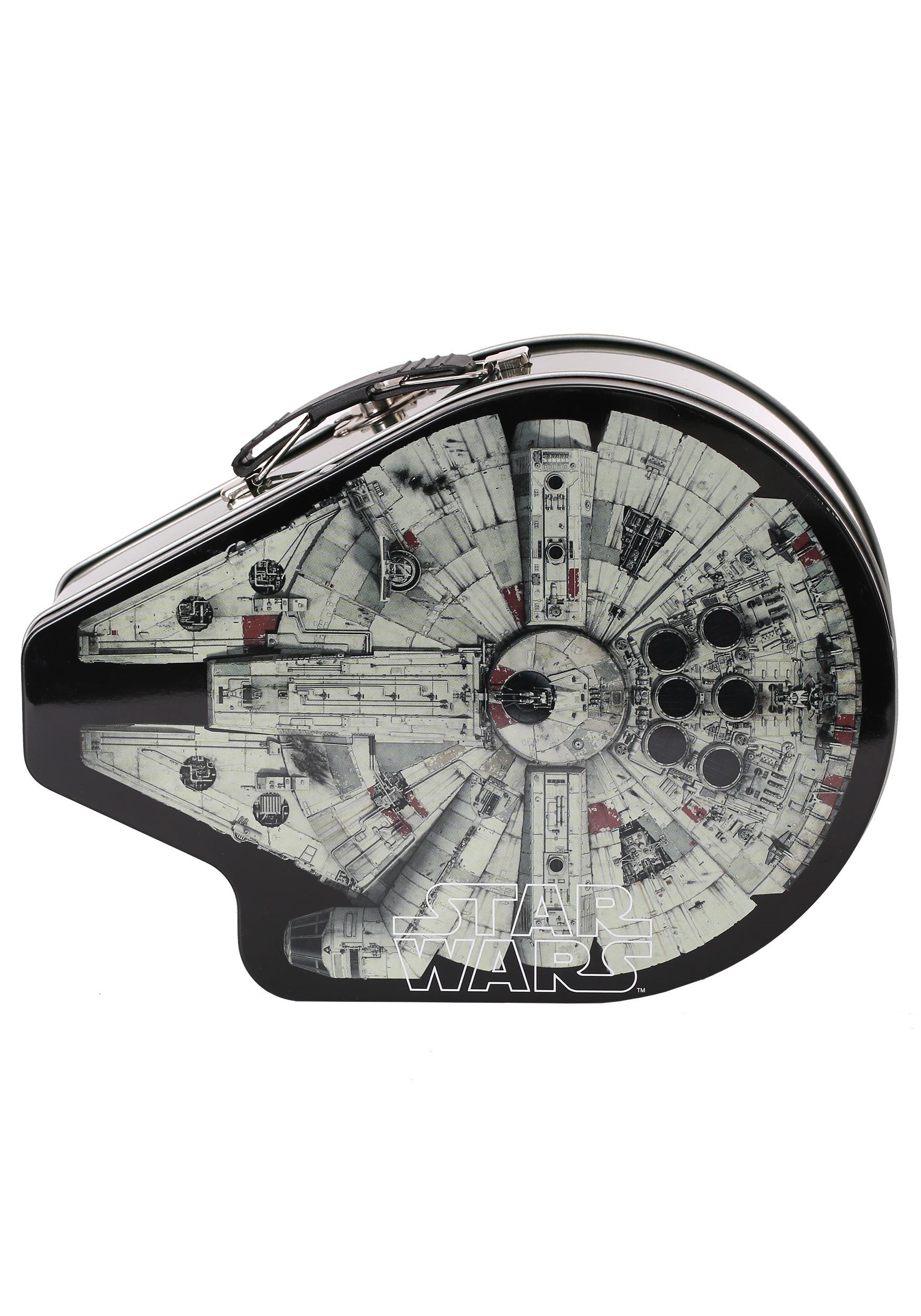 ... Star Wars Millennium Falcon Tin Lunch Box 3 ...