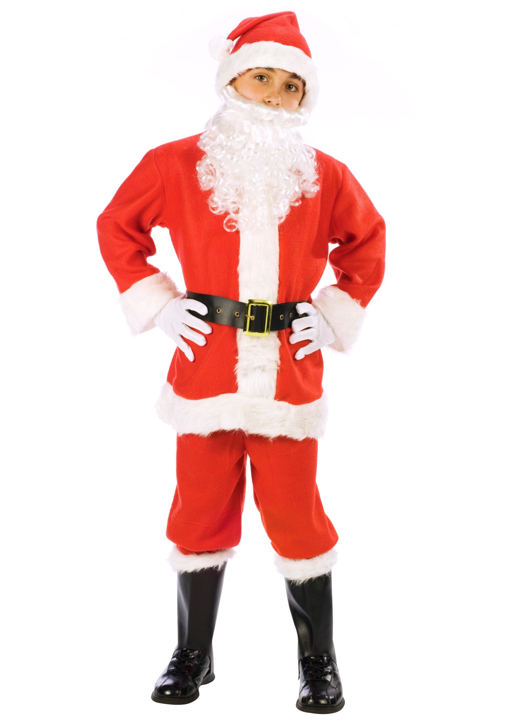 Santa claus kids costume
