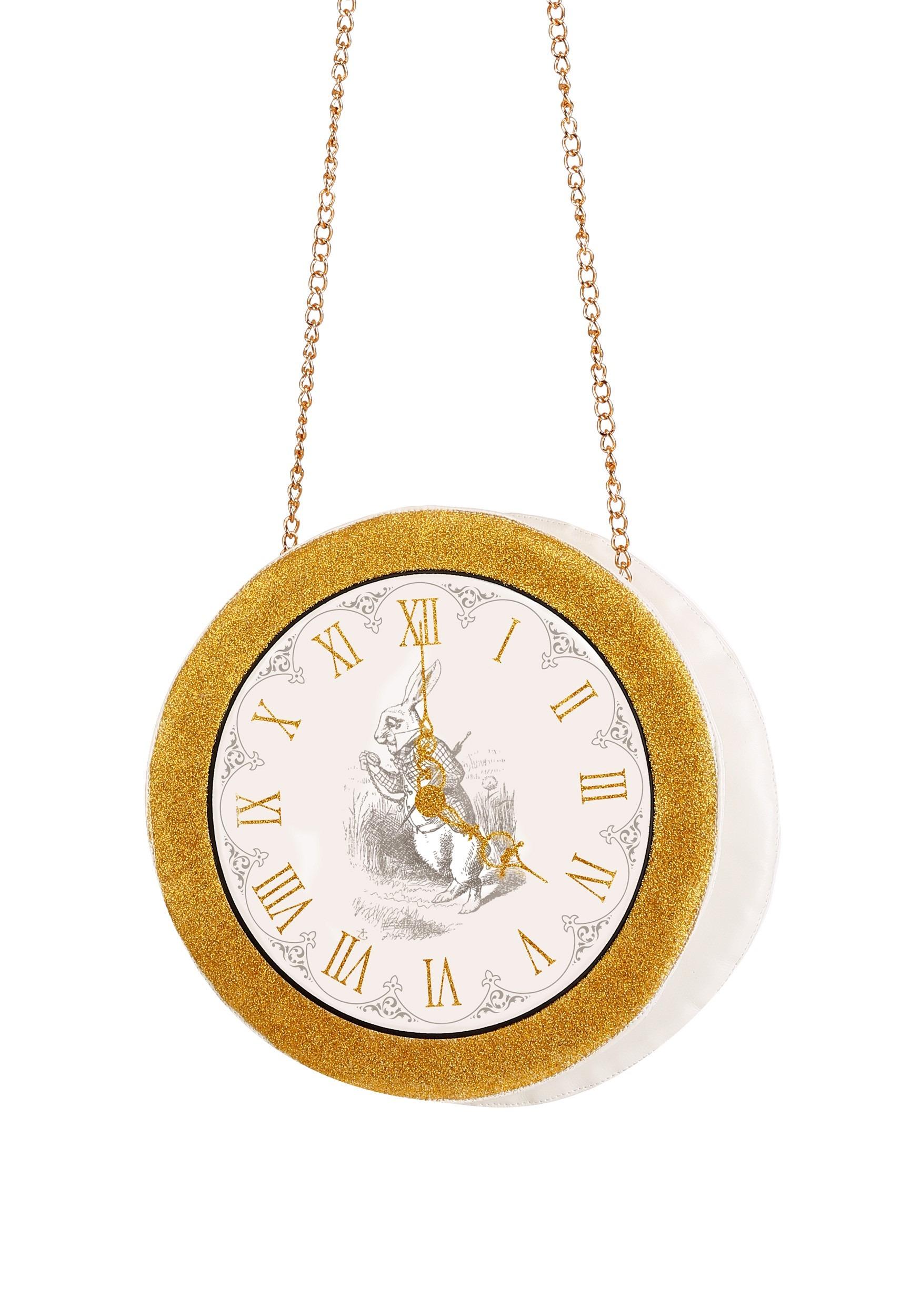 White Rabbit Clock Purse for Women photo