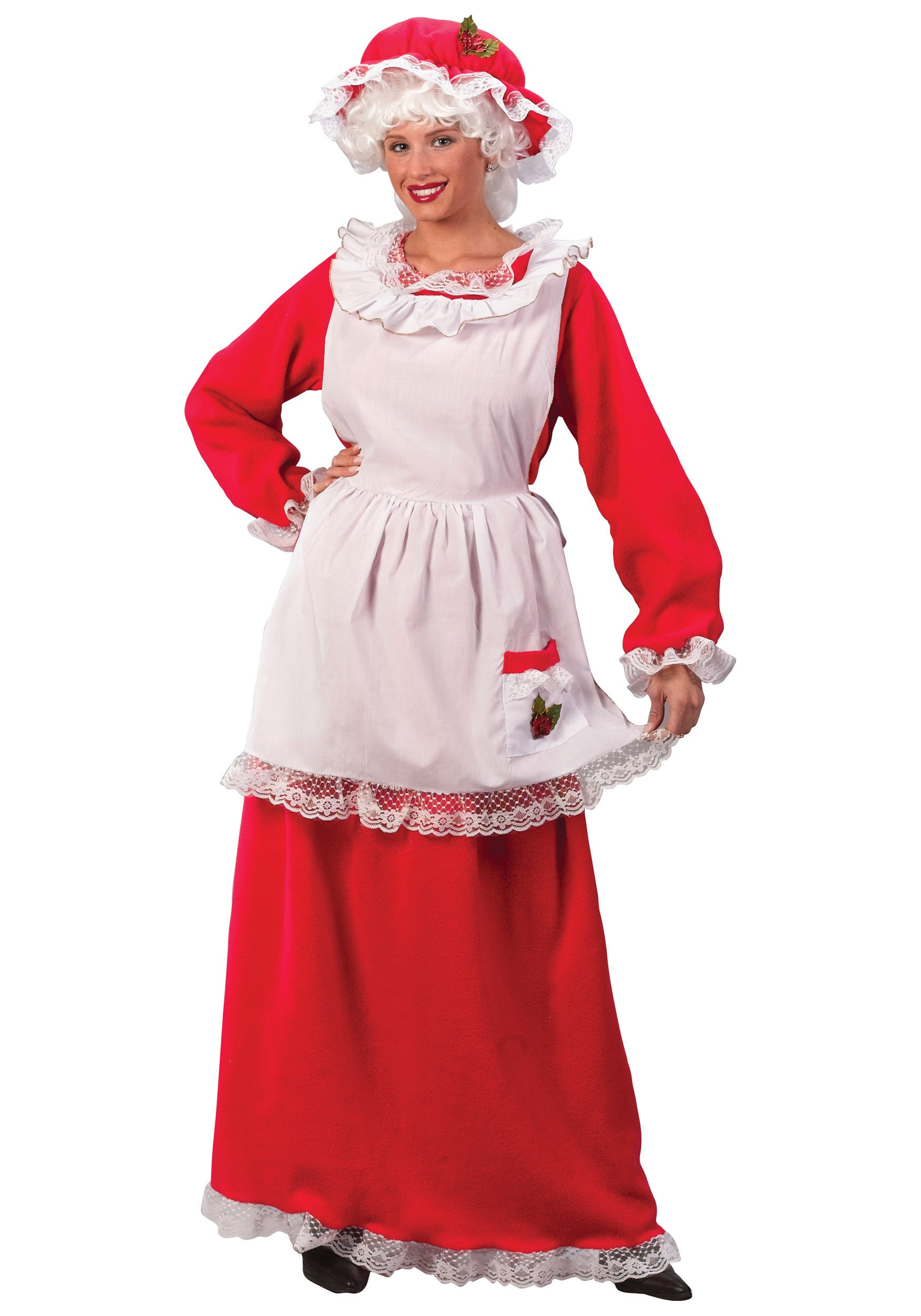 Women s mrs claus costume