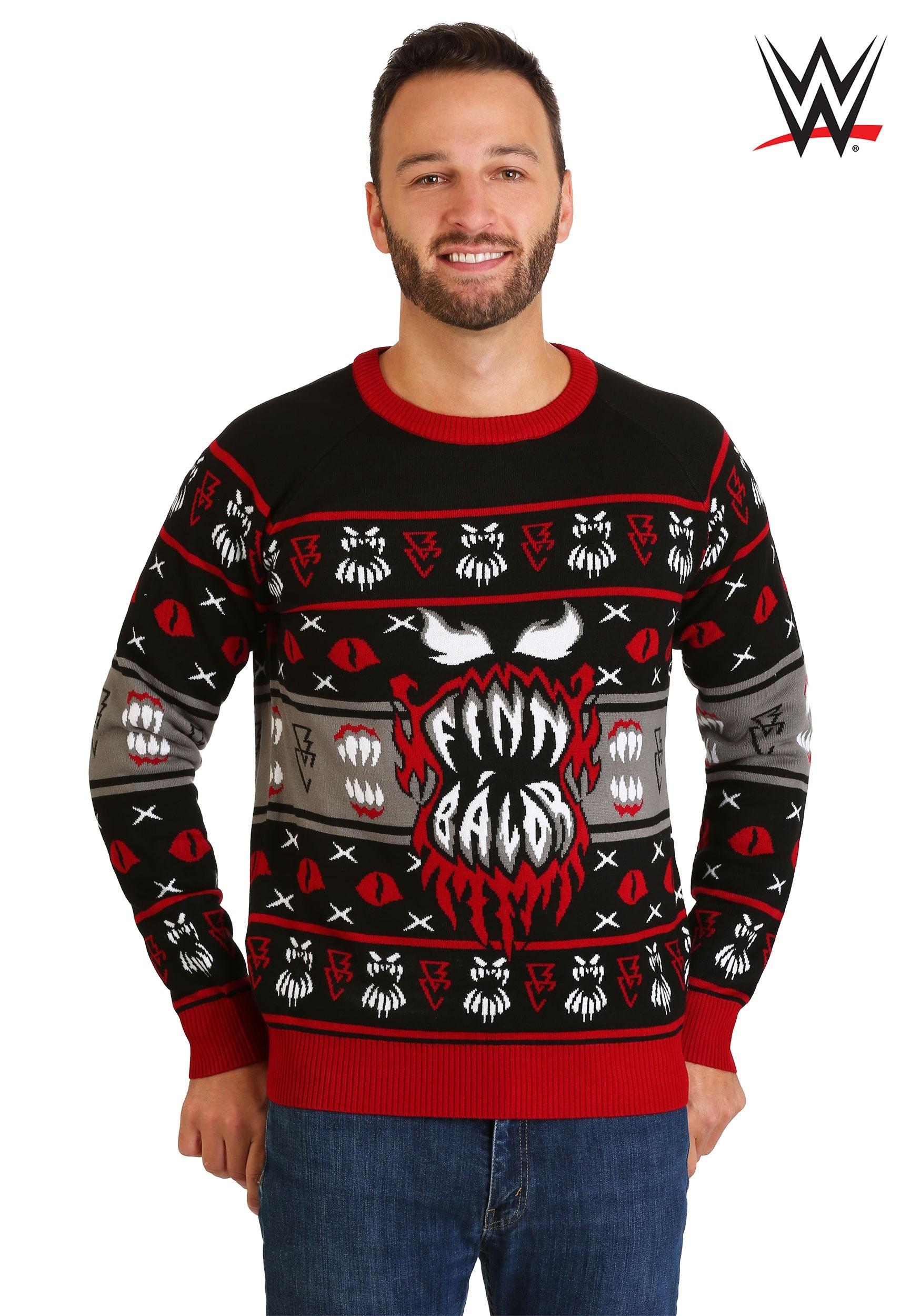 Adult WWE Finn Bálor Ugly Christmas Sweater