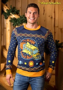 Adult Magic School Bus Ugly Christmas Sweater alt11