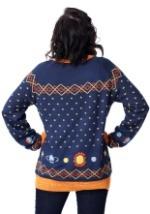 Adult Magic School Bus Ugly Christmas Sweater Back
