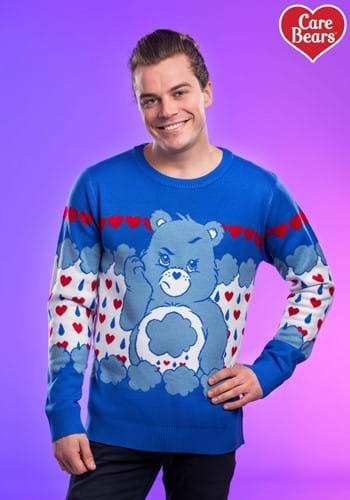 Grumpy Bear Care Bears Ugly Christmas Sweater update 2