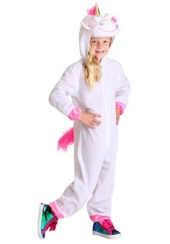 Girls Minions Fluffy Costume